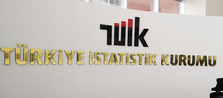 TÜİK - Türkiye İstatistik Kurumu - Altın Aynalı Dekota Harf Tabela