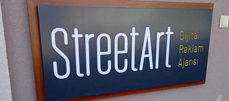 Street Art Dijital Ajans - Işıklı Tabela
