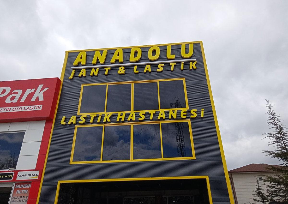 Anadolu Jant - Kutu Harf Tabela