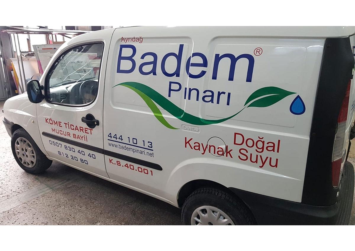 ARAÇ GİYDİRME - BADEM PINARI