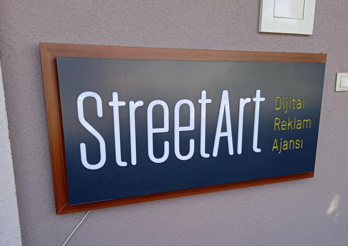 IŞIKLI TABELA - STREET ART DİJİTAL AJANS