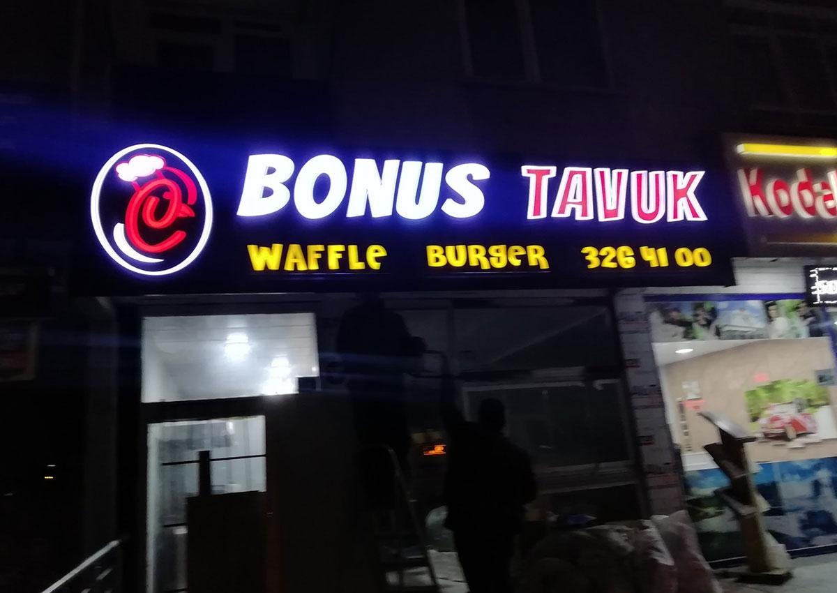 IŞIKLI TABELA - BONUS TAVUK