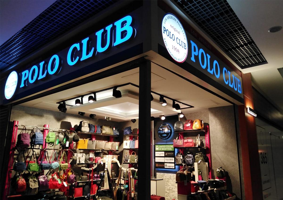 Polo Club - Işıklı Tabela